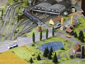 Champs de trains miniatures