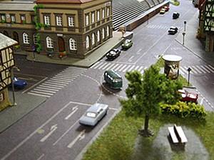 Modellbahn Strassen