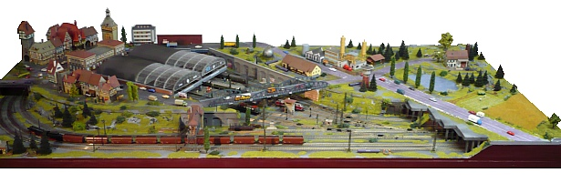 Modèle de voie ferrée N